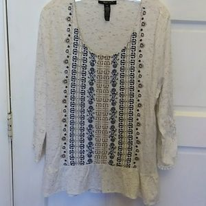 Style & company blouse size extra large